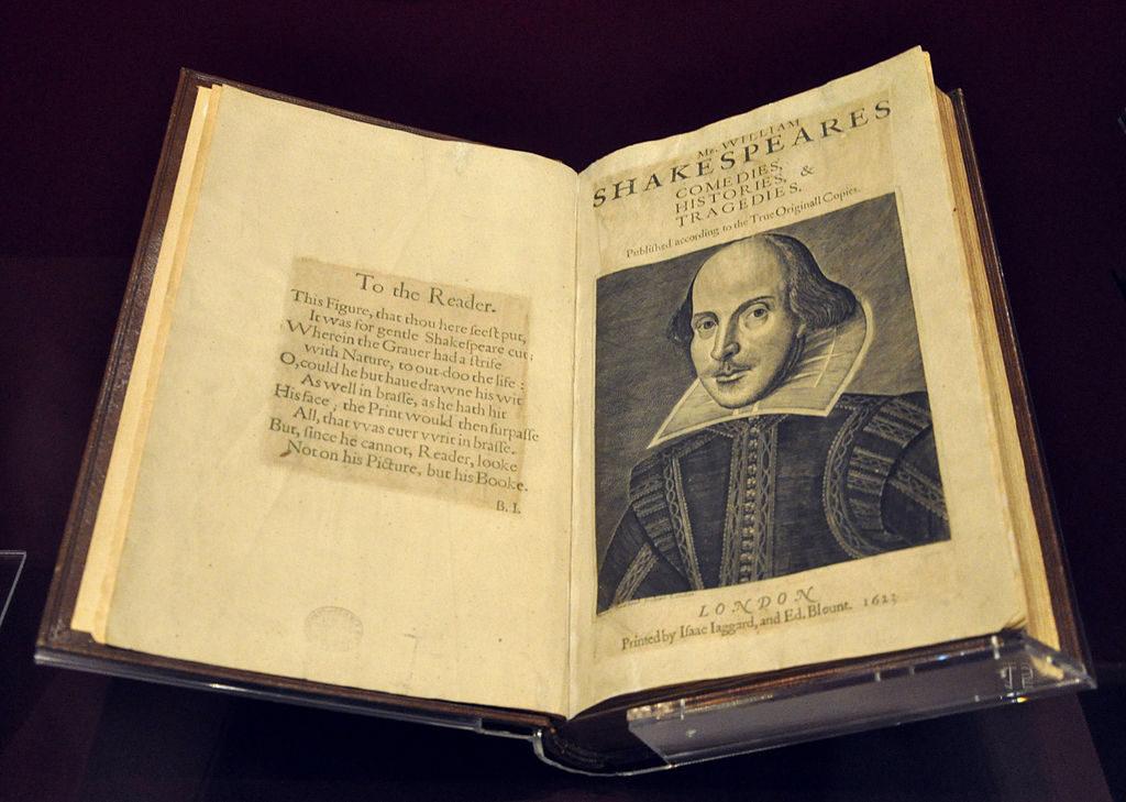 Первое фолио или Комедии, истории и трагедии господина Уильяма Шекспира. Самые дорогие книги в мире. 8 книг, купленных за рекордные деньги