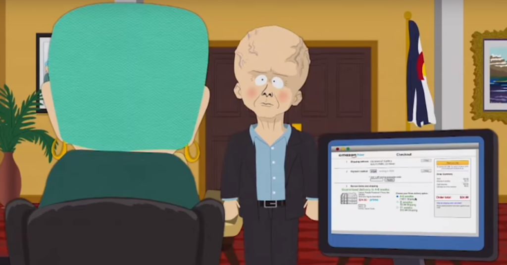 Jeff Bezos South Park. Джефф Безос в Южном Парке