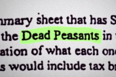 Может ли компании быть выгодна смерть своего работника. Страхование мертвых крестьян