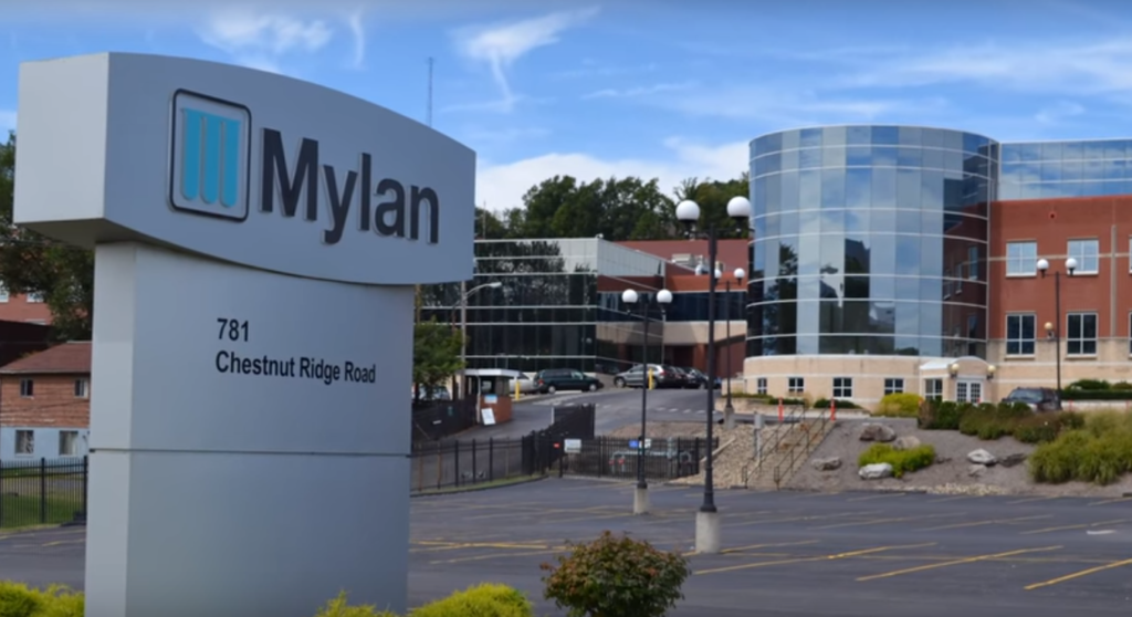 Компания Mylan. Случается, что заявление о миссии компании совершенно не согласуется с ee реальными действиями.