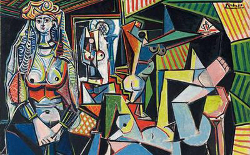 Пабло Пикассо, Алжирские женщины. Список 10 самых дорогих картин