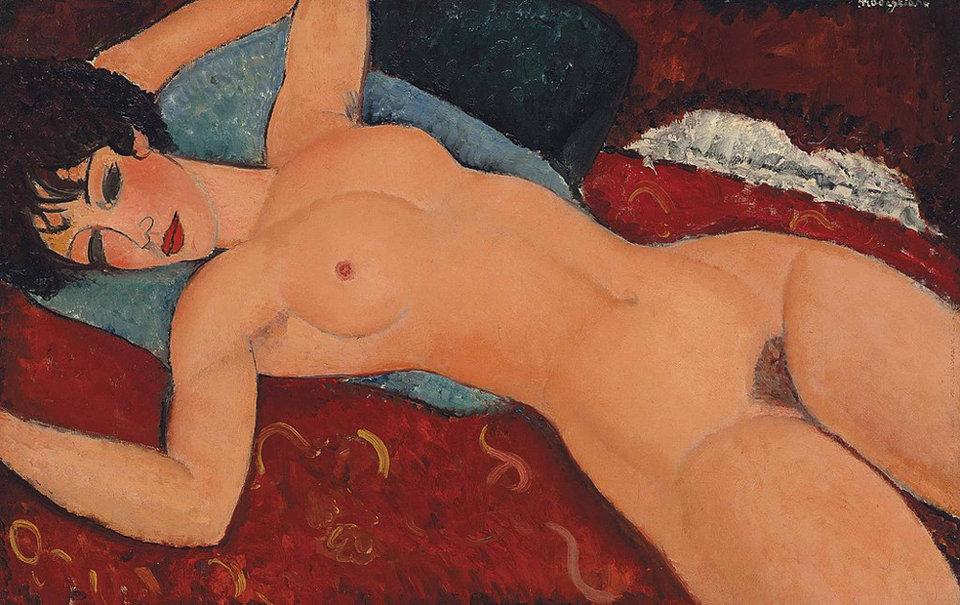 Амедео Модильяни, Лежащая обнаженная. Список 10 самых дорогих картин