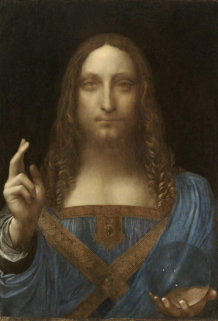 Леонардо да Винчи, Спаситель Мира. Список 10 самых дорогих картин