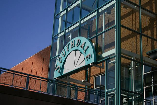 Саутдэйл - первый в мире торговый центр