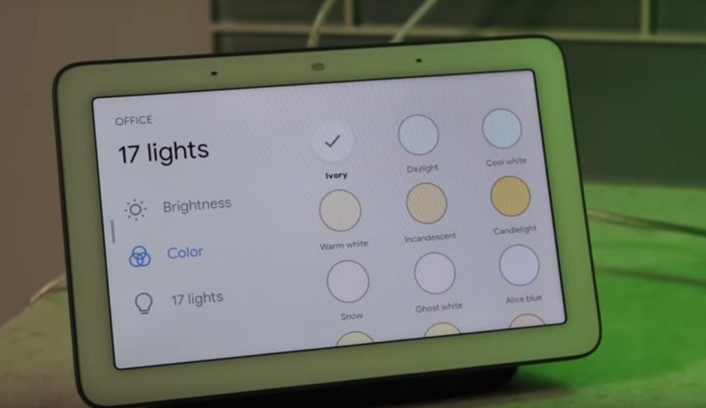 Google Home Hub. 11 немало отличных технологических новшеств
