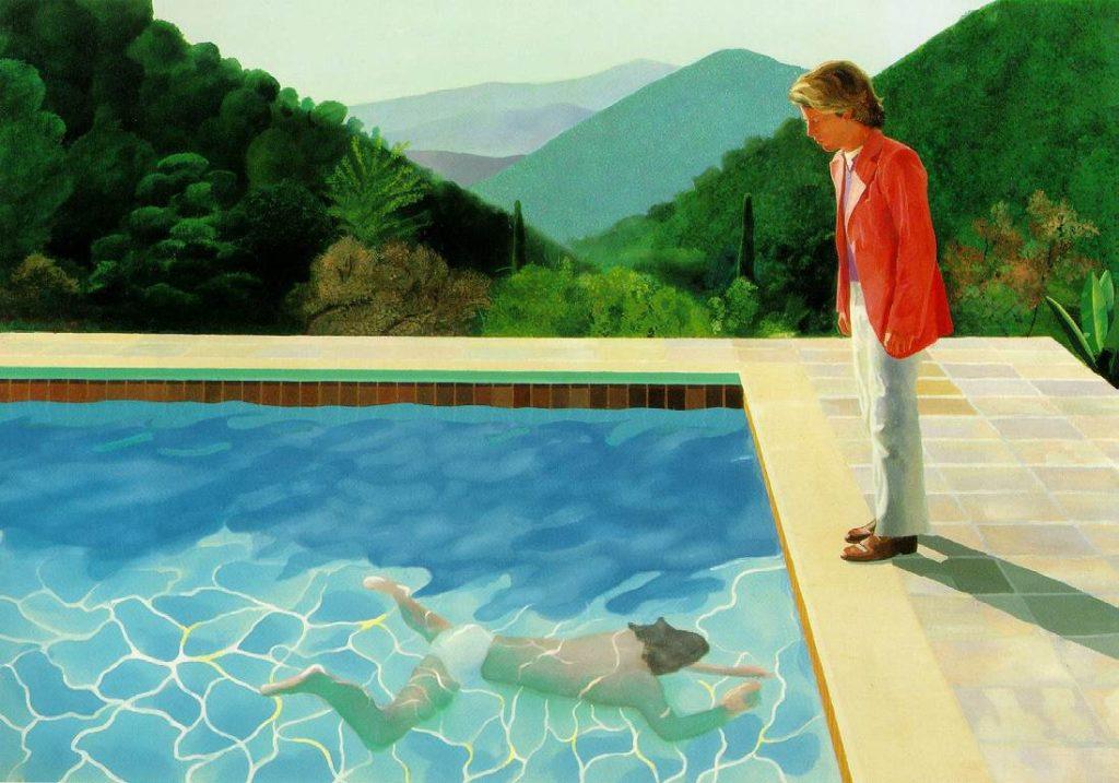 Дэвид Хокни, Портрет художника (Бассейн с двумя фигурами), картина за 90 миллионов долларов