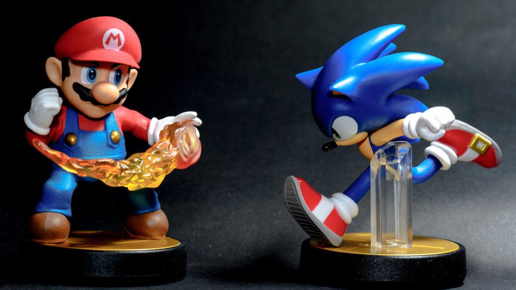 Sega и Nintendo - история борьбы. Соник vs. Марио: жесткое нападение, мягкая защита