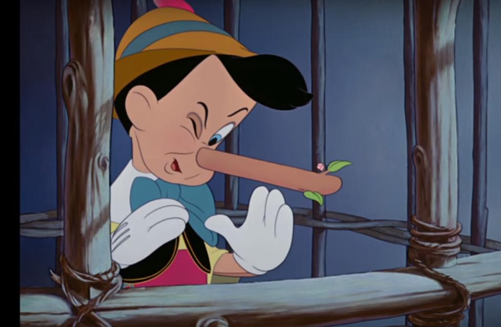 Пиноккио. В мире бизнеса преувеличения, тенденциозные интерпретации и просто откровенное вранье - совсем не редкость.