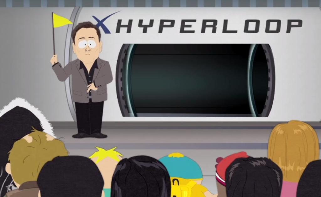 Создатель SpaceX в Южном Парке