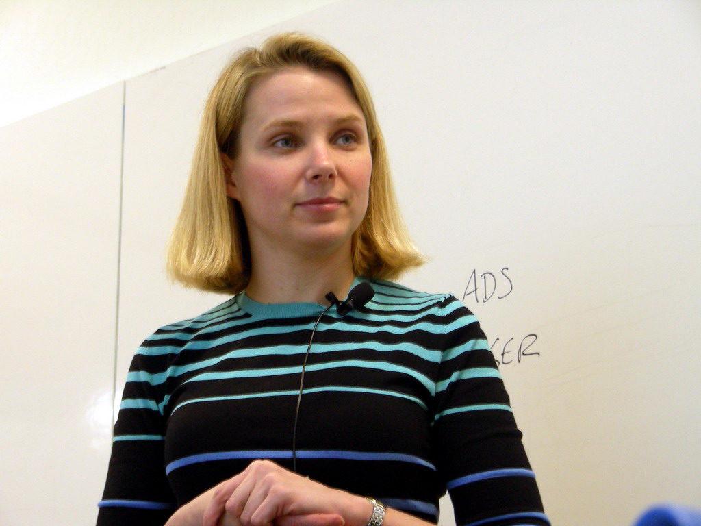 Марисса Майер во времена работы в Google