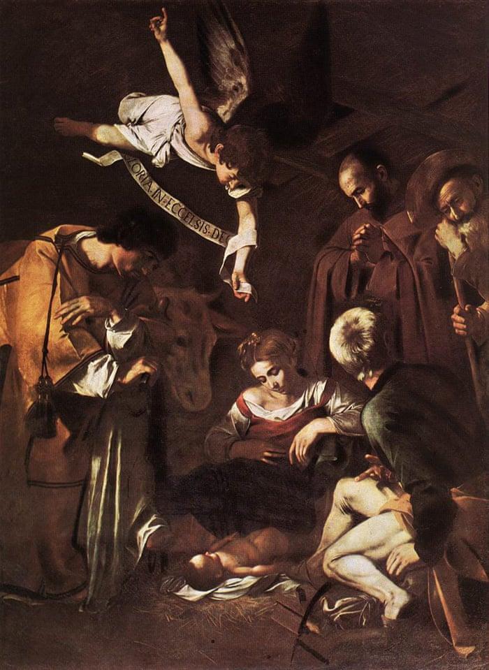Караваджо, Рождество со святым Франциском и святым Лаврентием