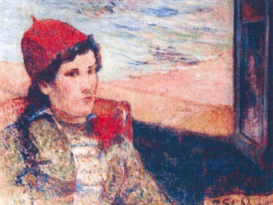 Пикассо, Девушка перед открытым окном