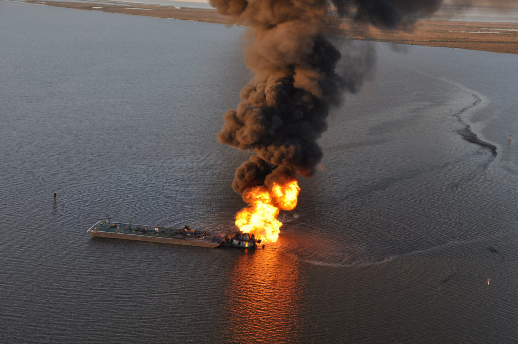 Мексиканский залив, катастрофа