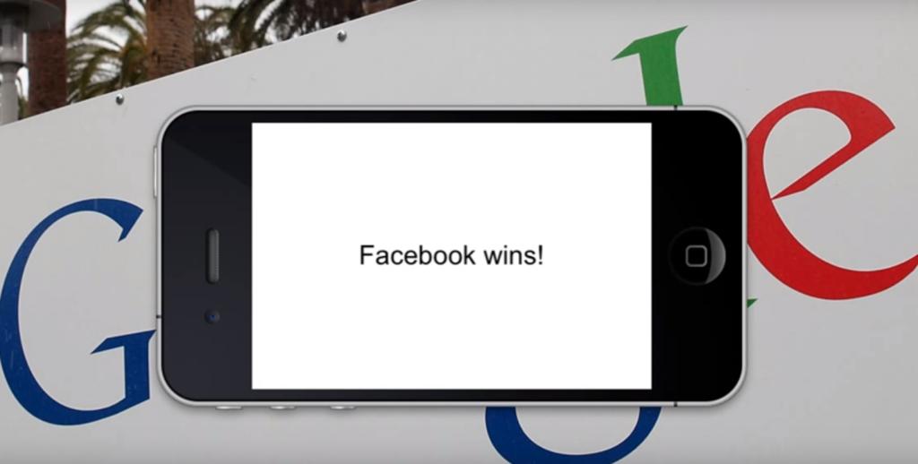 Фейсбук побеждает Google+
