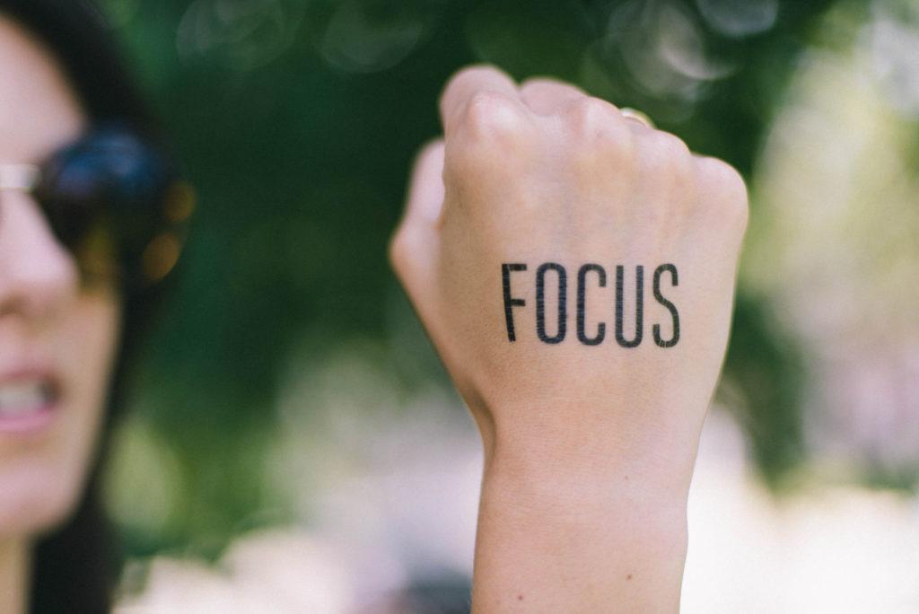 Концентрация на работе, фокус