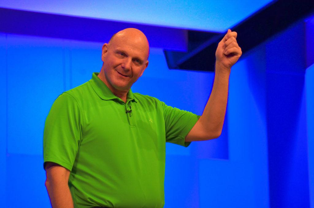 Стив Баллмер, Microsoft