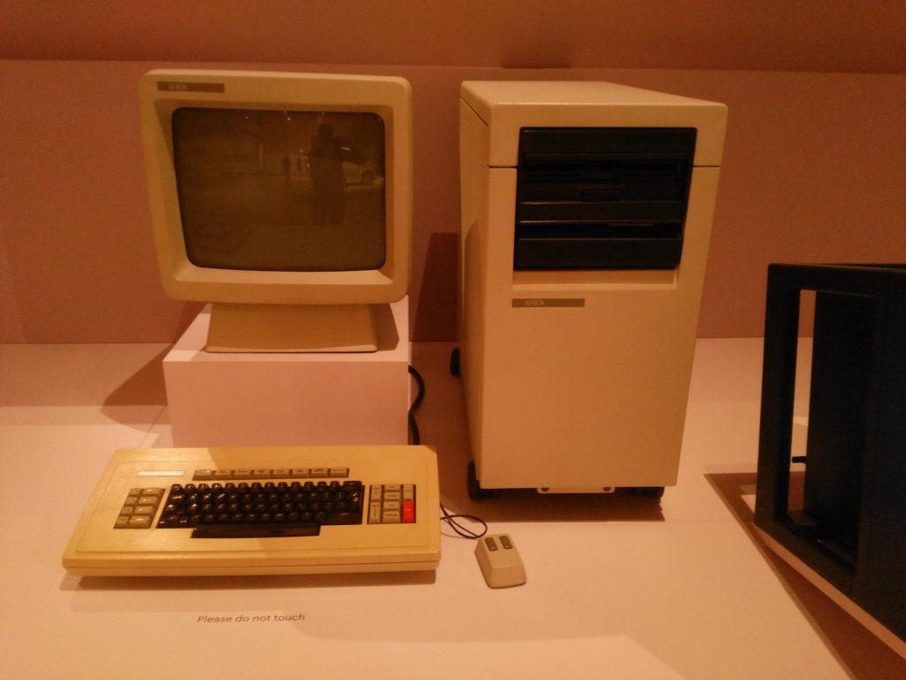 Xerox Star. Графический интерфейс и мышь