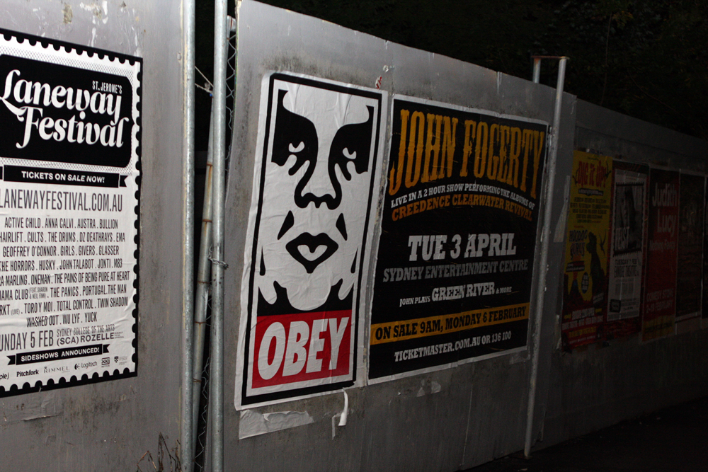 Шепард Фейри. Бренд Obey был создан в 2001 году.