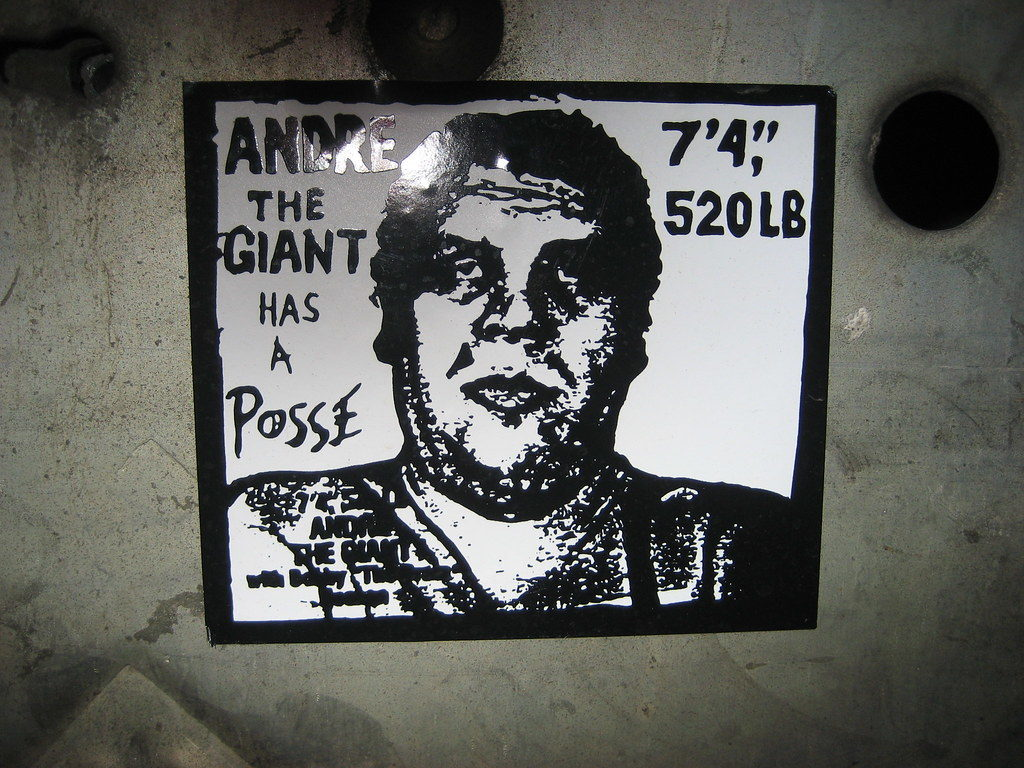 Андре Гигант. Andre the Giant Has a Posse