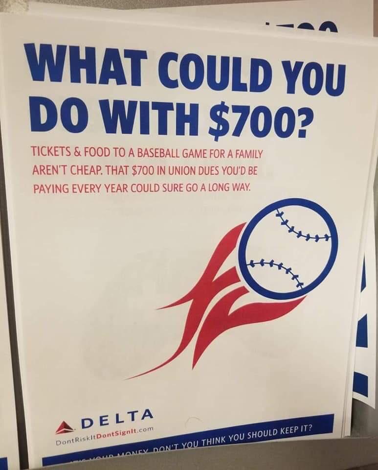 Агитационная кампания Delta Airlines