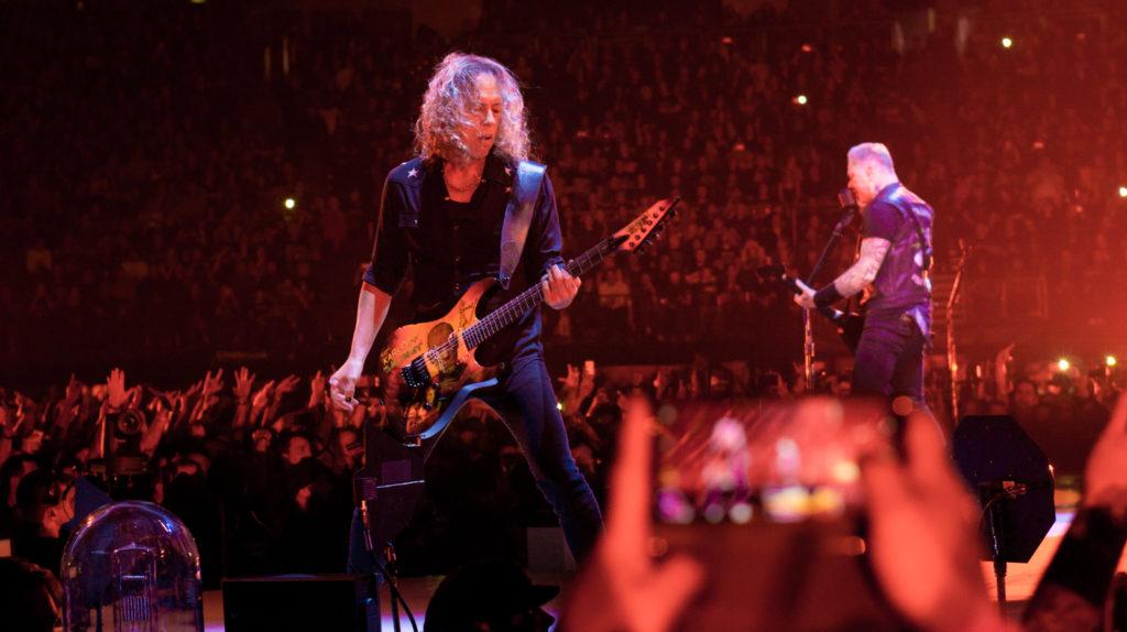 Гитарист Metallica Кирк Хэммет находит вдохновение в предпринимательстве