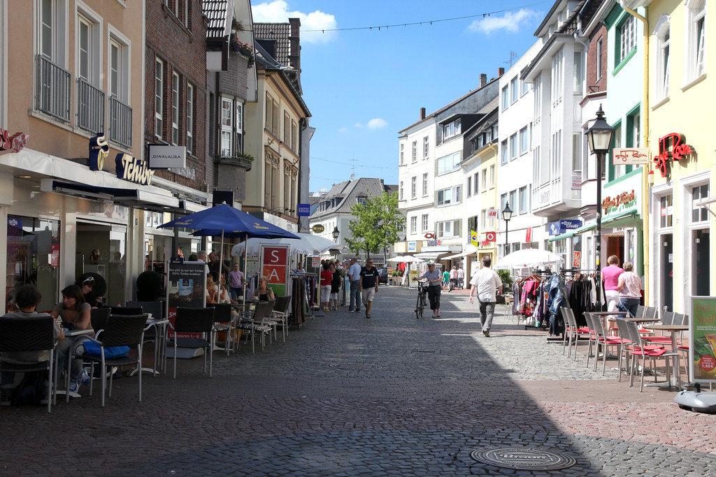 Город Мерс (Moers) в Германии.