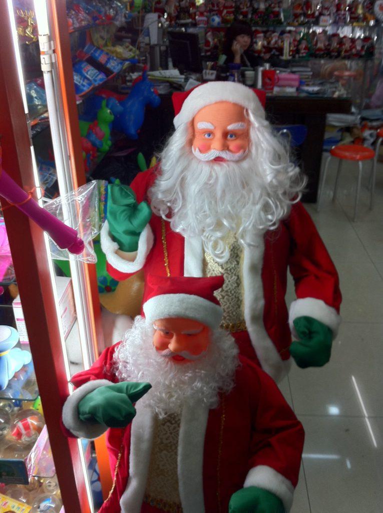 Город Иу, поставляющий две трети всех рождественских товаров в мире