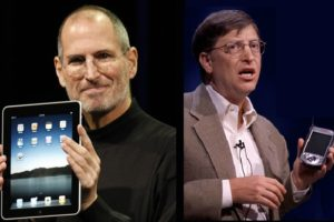 В чем Стив Джобс был лучше Билла Гейтса. Мнение самого Гейтса